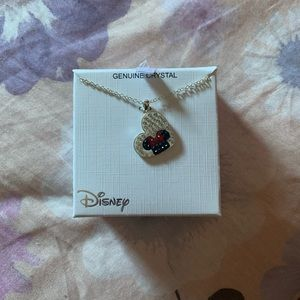 Disney Minnie Mouse Heart Necklace